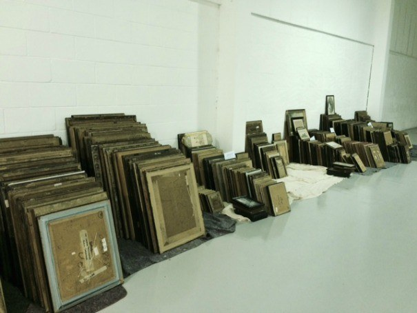 Organising our large print collection