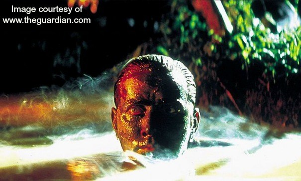 A still from one of Terry's favourite films, Apocalypse Now