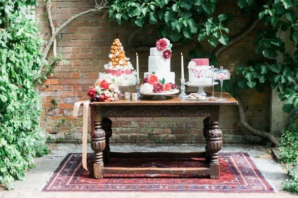 Kate Nielen's photo of our Tudor style dessert table.
