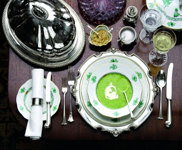 Diningware available to hire from Lewis and Kaye as photographed by Martin Brigdale