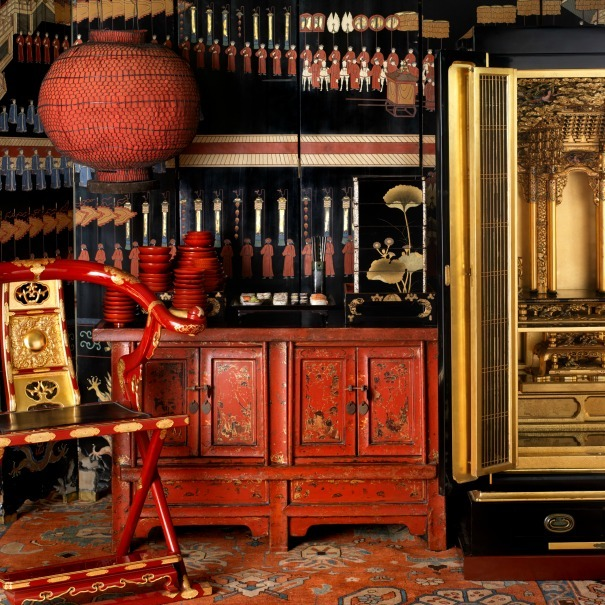 A selection of our oriental props available to hire, as photographed by Martin Brigdale