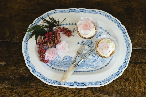 Platters and cake stands to hire, as photographed by Weddings By Nicola And Glen.