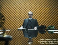 A still from Tinker Tailor Soldier Spy which Gill Farr worked on as production Buyer