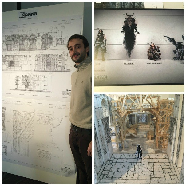 Alessandro Aglietti and some of his work for the Joe Farley Award 2016