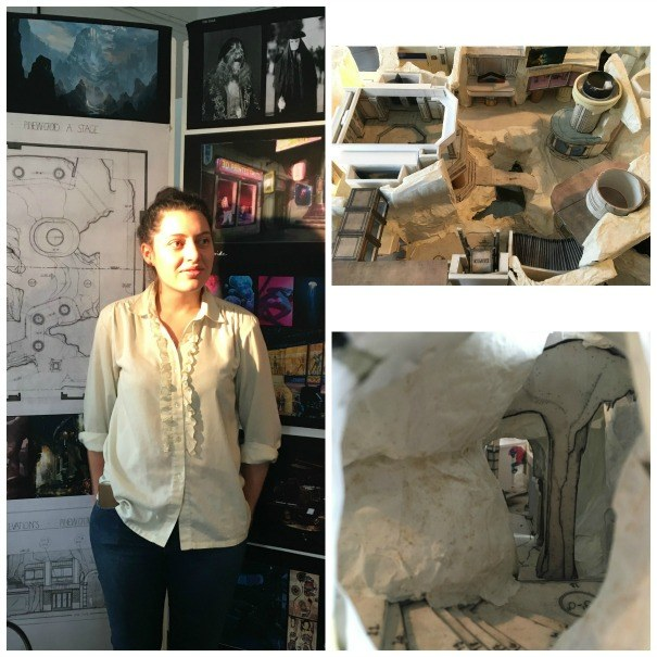 Kristina Kovacs and examples of her work for the Joe Farley Award judging 2016