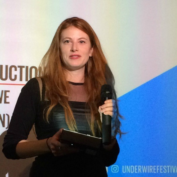 Antonia Lowe, winner of the Underwire Production Design award 2016