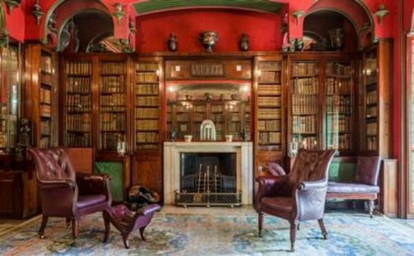 The Library at The Sir John Soane's Museum