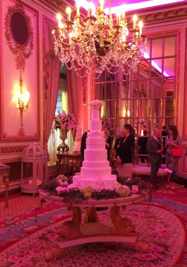 Farley centre table in The Ritz for Unique Cakes by Yevnig event