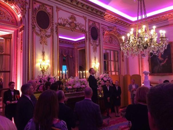 William Hanson discusses etiquette at The Ritz Unique Cakes by Yevnig event