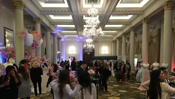 The ballroom at The Langham Hotel