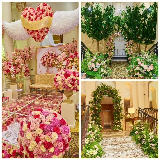 Flowers by Ricky Paul, Grandirosa and Phillip Corps at The Quintessentially Wedding Atelier
