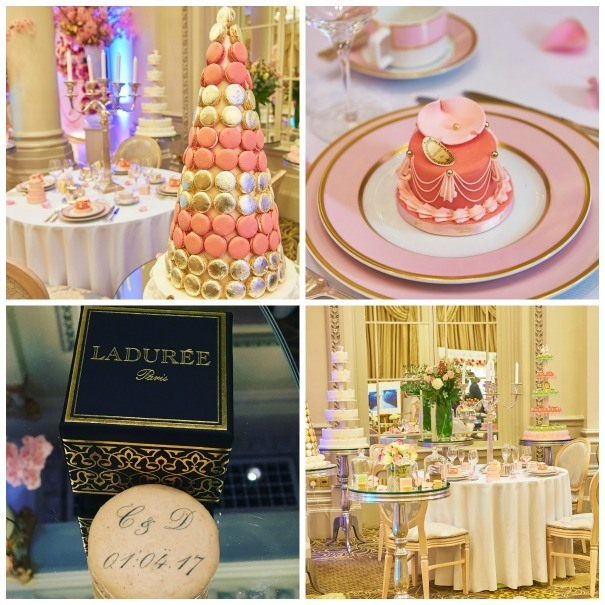 Delicious macaron from Laduree at The Quintessentially Wedding Atelier