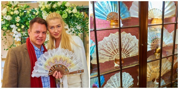 Fabulous handfans from Rockcoco Fans at The Quintessentially Atelier