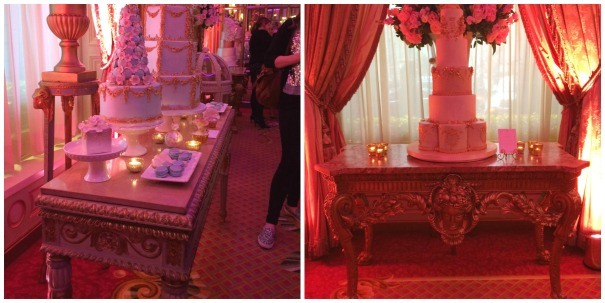 Farley's Louis XVI tables at The Ritz for Unique Cakes By Yevnig event