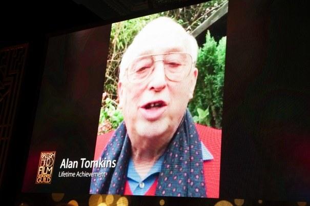 Alan Tomkins BFDG 2017 winner Lifetime Achievement
